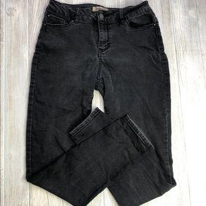Blue Spice Sz 7 Black Skinny Jeans